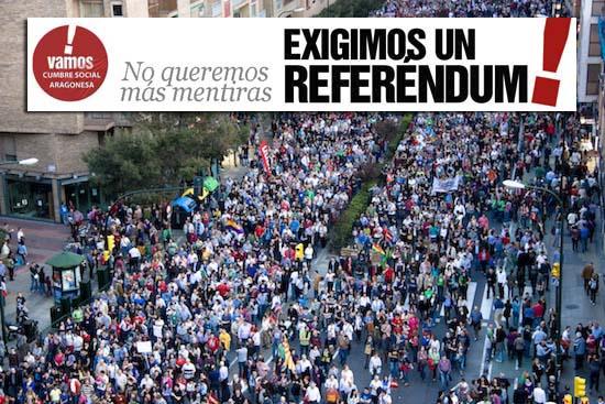 Exigimos un referendum
